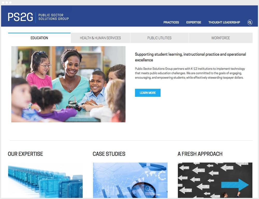 PS2G Website