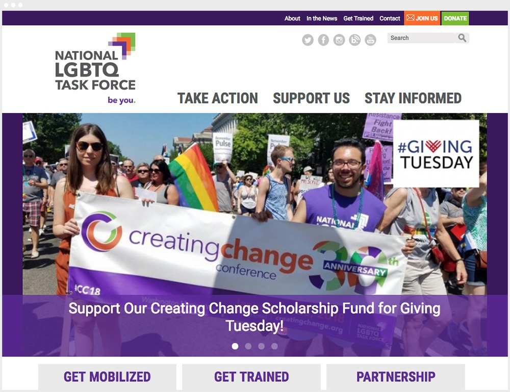 TF Website Homepage