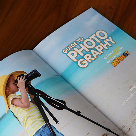 National Geographic Kids' Guide Photography Magazine Print Design