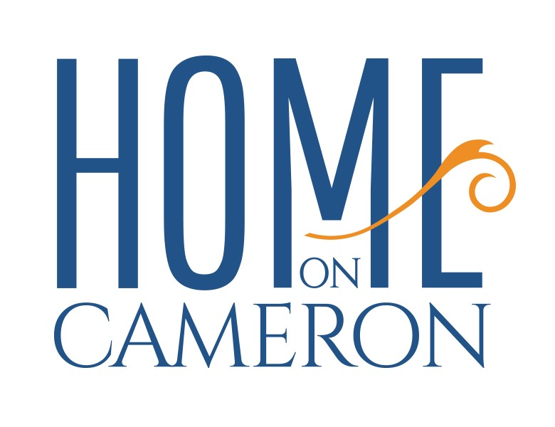 home on cameron logo design and wordpress website development