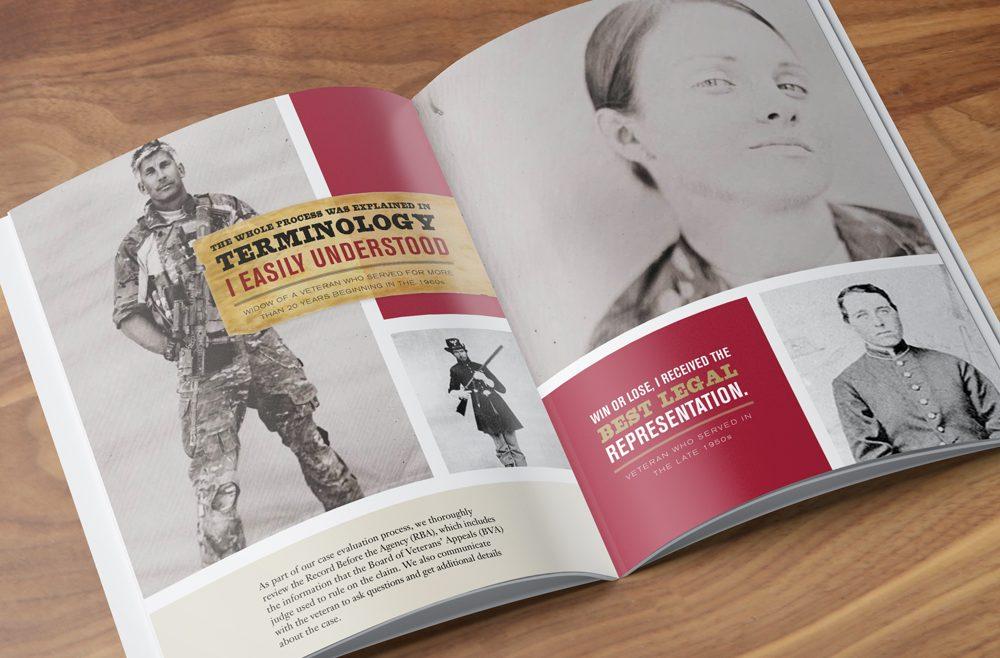 PVA Annual report Design spread