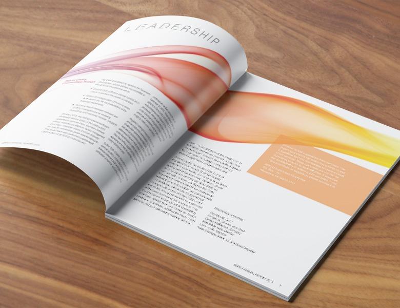 SDFCU Annual Report Inside Spread