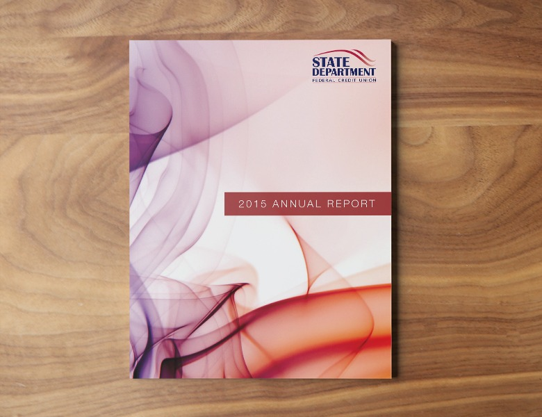 SDFCU 2015 Annual Report Cover Design