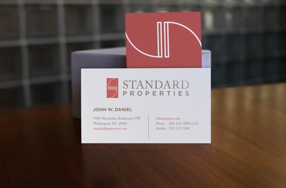 Standard Properties Business Cards