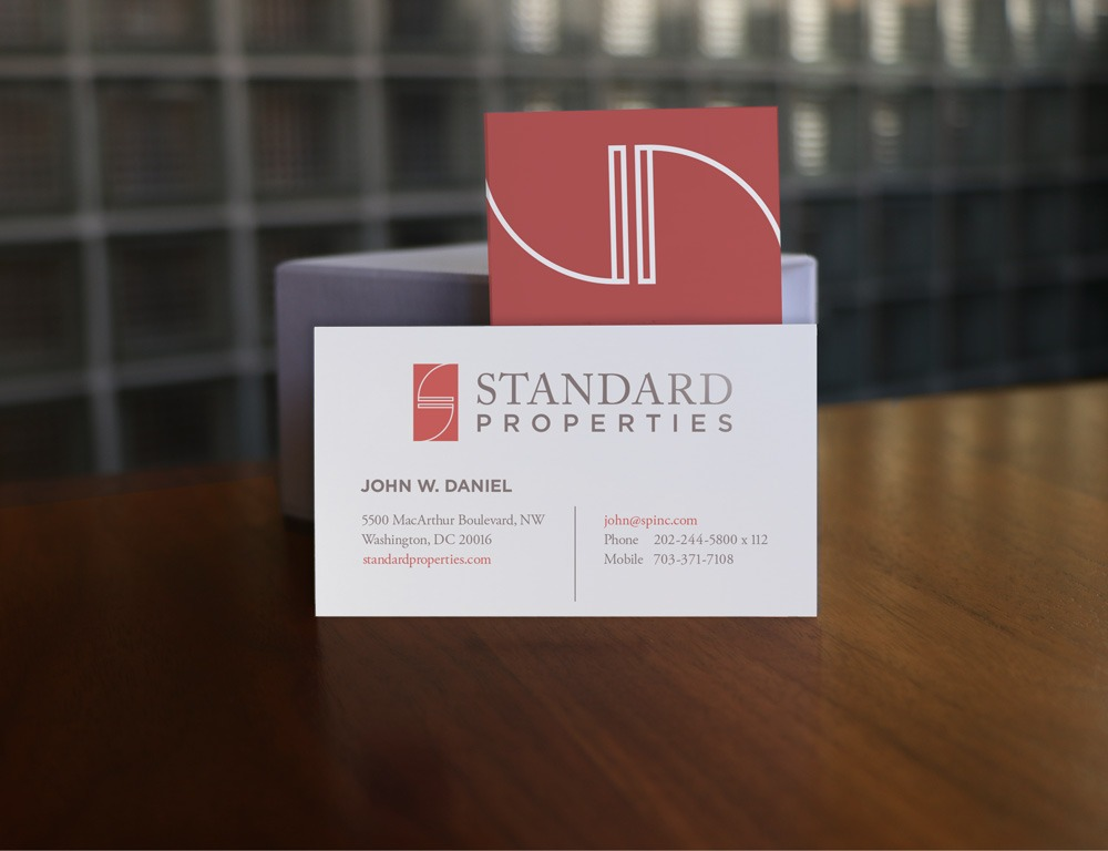 Standard Properties Business Cards