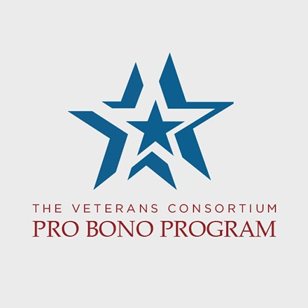 The Veterans Consortium Pro Bono Program Logo B