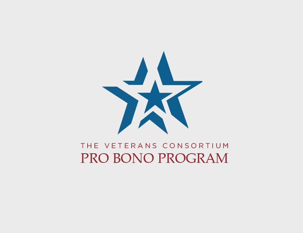 The Veterans Consortium Pro Bono Program Logo