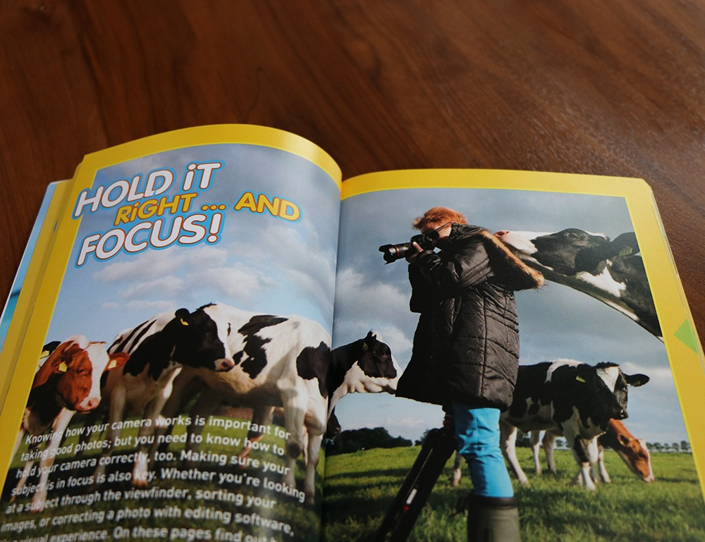 National Geographic Hold it Right and Focus Book Magazine Design